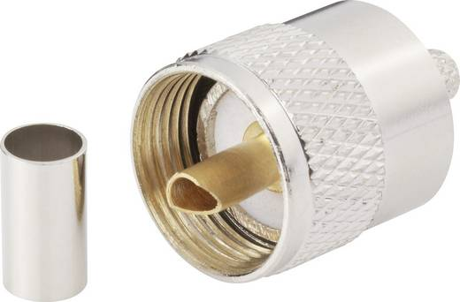 UHF-Steckverbinder Stecker, gerade 50 Ω BKL Electronic 0406074 1 St.