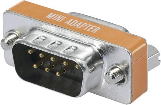 Null Modem Adapter [1x D-SUB-Buchse 9pol. - 1x D-SUB-Stecker 8pol.] 0 m Orange Digitus