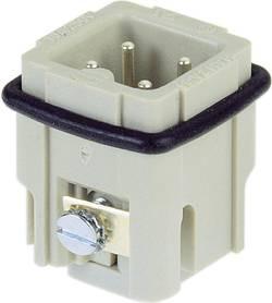 Vložka pinového konektoru Han® A 09 20 003 2611 Harting 3 + PE, šroubovací připojení, 10 ks