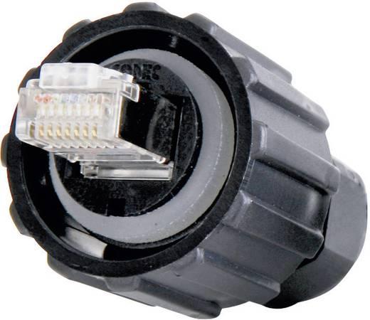 Sensor-/Aktor-Datensteckverbinder Stecker, Einbau Polzahl: 8P8C Conec 17-100464 1 St.