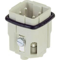 Vložka pinového konektoru Han® A 09 20 004 2611 Harting 4 + PE, šroubovací připojení, 10 ks