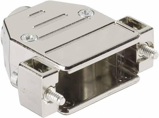 D-SUB Gehäuse Polzahl: 9 Kunststoff, metallisiert 180 ° Silber Harting 09 67 009 0443 1 St.