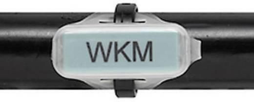 Leitermarkierer Beschriftungsfläche: 30 x 8 mm Passend für Serie Einzeldrähte, Universaleinsatz Transparent Weidmüller WKM 8/30 1631910000 1 St.