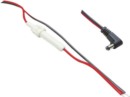 Niedervolt-Anschlusskabel Niedervolt-Stecker - Kabel, offenes Ende 5.5 mm 2.1 mm BKL Electronic 1.60 m 1 St.