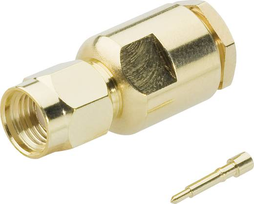 SMA-Steckverbinder Stecker, gerade 50 Ω BKL Electronic 409098 1 St.