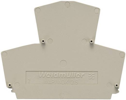 Abschlussplatten und Trennwände WAP WDK2.5 1059100000 Grau Weidmüller 1 St.