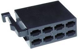 Connecteur mâle ISO 8 pôles noir (alimentation) AIV 56 0814