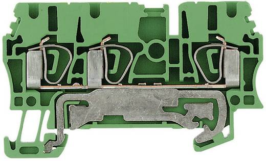 Schutzleiter-Reihenklemmen ZPE ZPE 2.5/3AN 1608650000 Grün-Gelb Weidmüller 1 St.