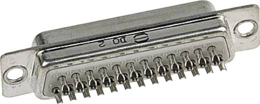 D-SUB Stiftleiste 180 ° Polzahl: 25 Lötkelch Harting 09 67 025 5615 1 St.