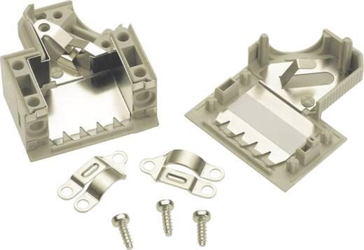 D-SUB Gehäuse Polzahl: 15 Kunststoff 45 ° Grau Harting 09 67 015 0573 1 St.