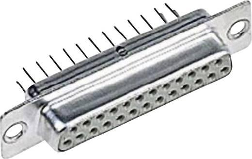 D-SUB Buchsenleiste 180 ° Polzahl: 15 Löten Harting 09 67 015 4755 1 St.