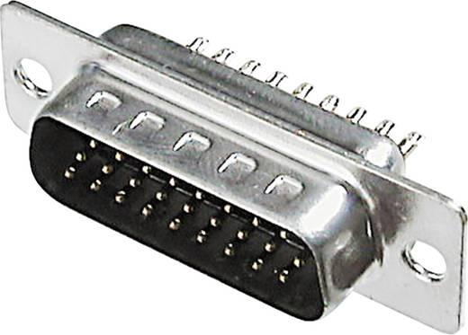 D-SUB Buchsenleiste 180 ° Polzahl: 15 Lötkelch ASSMANN WSW A-HDF 15 LL/Z 1 St.