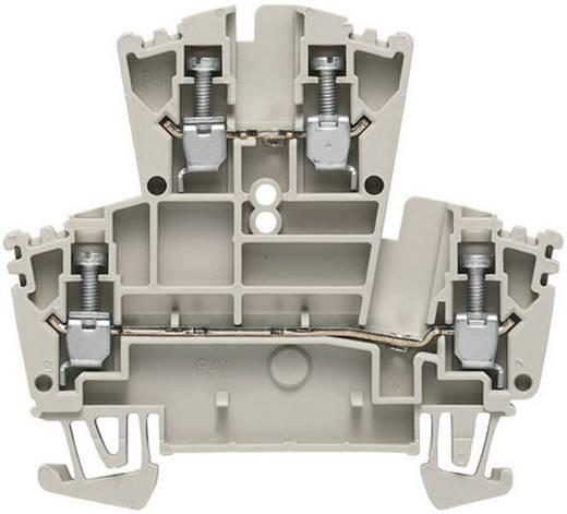 Doppelstock-Reihenklemmen - WDK WDK 2.5 1021500000 Grau Weidmüller 1 St.