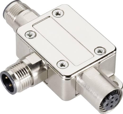 Sensor-/Aktor-Verteiler und Adapter M12 Adapter, T-Form Polzahl: 4 Provertha 42-100007 1 St.