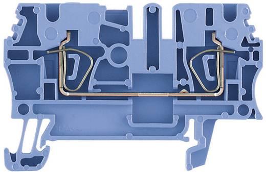 Durchgangs-Reihenklemmen ZDU blau ZDU 4 BL 1632060000 Blau Weidmüller 1 St.