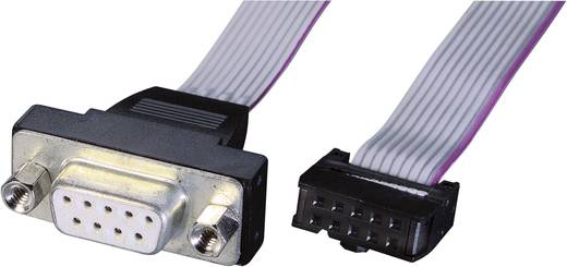 Seriell, Parallel Anschlusskabel [1x D-SUB-Buchse 9pol. - 1x Buchsenleiste 10pol.] 0.26 m Grau Renkforce