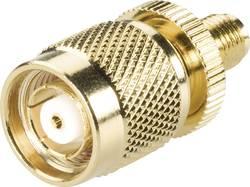 Adaptér TNC Reverse zástrčka / SMA zásuvka BKL Electronic 419418, 50 Ω, Delrin, rovný