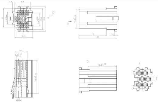 AIV Mini ISO Gehäuse Pole=6