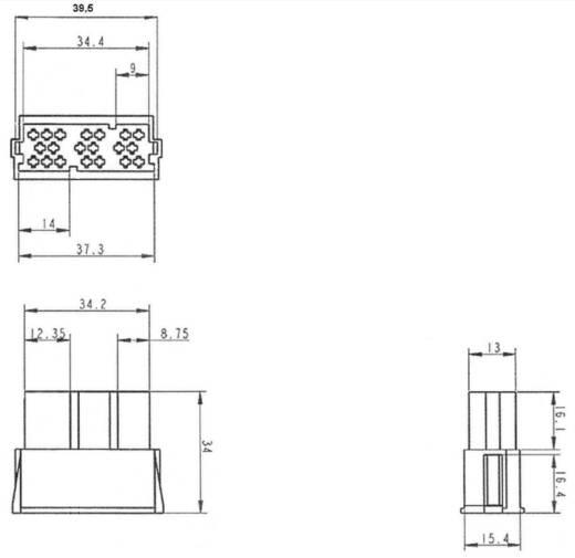 AIV Mini ISO Gehäuse Pole=20