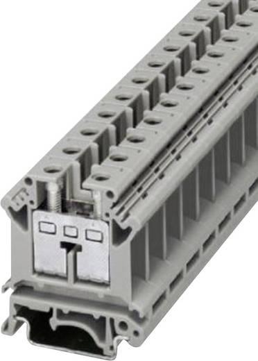 Reihenklemmen-Schraubanschlusstechnik UIK 16 Phoenix Contact Grau Inhalt: 1 St.