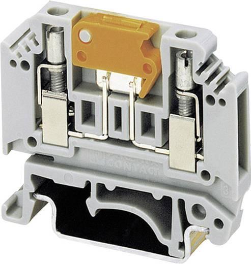 Messer-Trennklemme MTK-P/P Phoenix Contact Grau Inhalt: 1 St.
