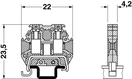 Microklemme MT 1,5-PE Phoenix Contact Grün-Gelb Inhalt: 1 St.