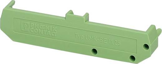 Hutschienen-Gehäuse Seitenteil 77 x 11.5 Polyamid Grün Phoenix Contact UMK- SE 11,25 1 St.