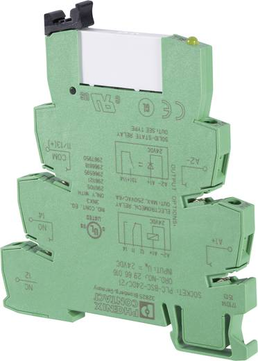 Interfacerelais 1 St. 24 V/DC, 24 V/AC 6 A 1 Wechsler Phoenix Contact PLC-RSC- 24UC/21