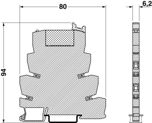 Interfacerelais 1 St. 24 V/DC 6 A 1 Wechsler Phoenix Contact PLC-RSC- 24DC/21