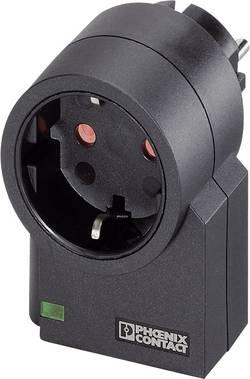 Mezizásuvka s přepěťovou ochranou Phoenix Contact 2882200, MNT-1D, 4 kV, 3600 W, černá