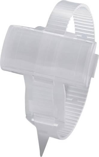 Zeichenträger mit Kabelbinder Montage-Art: Kabelbinder Beschriftungsfläche: 25 x 10 mm Passend für Serie Einzeldrähte, U