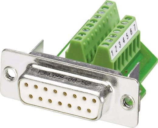 D-SUB Buchse 180 ° Polzahl: 15 Schrauben Phoenix Contact VS-15-BU-DSUB/16-MPT-0,5 1 St.