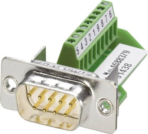 D-SUB Stecker 180 ° Polzahl: 9 Schrauben Phoenix Contact VS-09-ST-DSUB/10-MPT-0,5 1 St.
