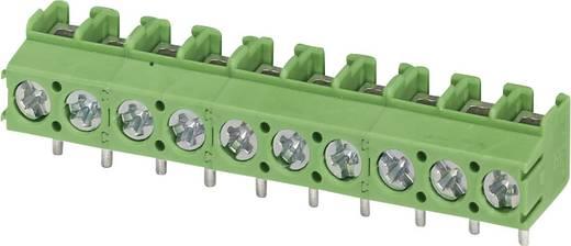 Schraubklemmblock 2.50 mm² Polzahl 10 PT 1,5/10-5,0-V Phoenix Contact Grün 1 St.