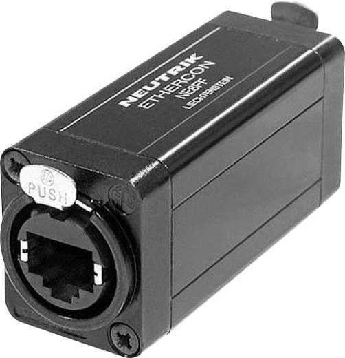 RJ45 Datensteckverbinder EtherCon® D Serie Buchse, gerade NE8FF Pole: 8P8C NE8FF Schwarz Neutrik NE8FF 1 St.