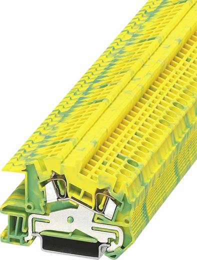 PE-Schutzleiterklemme STI 2,5-PE Phoenix Contact Grün-Gelb Inhalt: 1 St.
