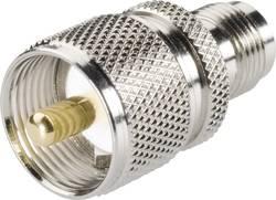 UHF zástrčka / N zásuvka BKL 406034, 50 Ω, adaptér rovný
