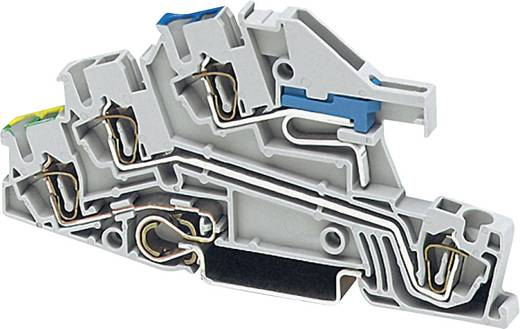 Dreistock-Installationsklemme STI 2,5-PE/L/NT Phoenix Contact Grau Inhalt: 1 St.