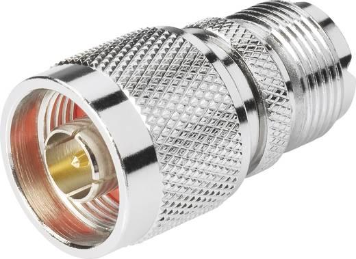 N-Adapter N-Stecker - UHF-Buchse BKL Electronic 0404042 1 St.