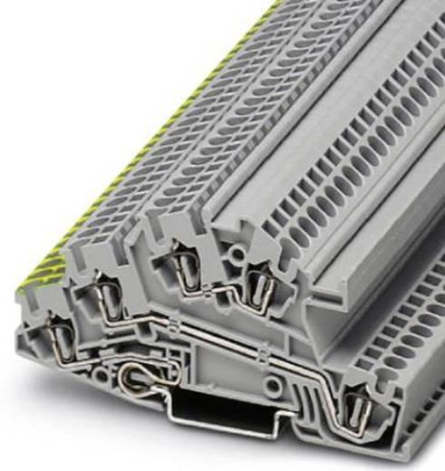 Dreistock-Installationsklemme STI 2,5-PE/L/N Phoenix Contact Grau Inhalt: 1 St.