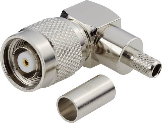 TNC-Reverse-Steckverbinder Stecker, gewinkelt 50 Ω BKL Electronic 0419408 1 St.