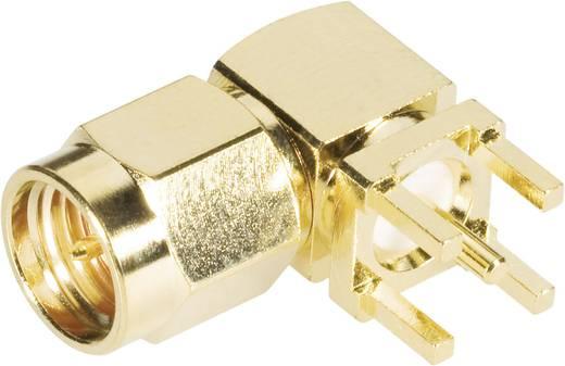SMA-Steckverbinder Stecker, Einbau horizontal 50 Ω BKL Electronic 409060 1 St.