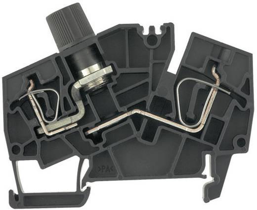 Sicherungs-Reihenklemmen - ZSI schwarz G20 ZSI 2.5-2/2X2AN/G20 1826050000 Schwarz Weidmüller 1 St.