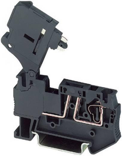 Zugfeder-Sicherungsklemme ST 4-HESILA 250 (5X20) Phoenix Contact Schwarz Inhalt: 1 St.