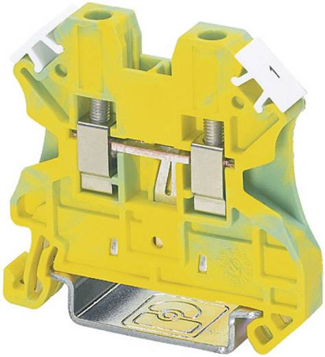 Universal-Schutzleiterklemme-PE UT 4-PE Phoenix Contact Grün-Gelb Inhalt: 1 St.