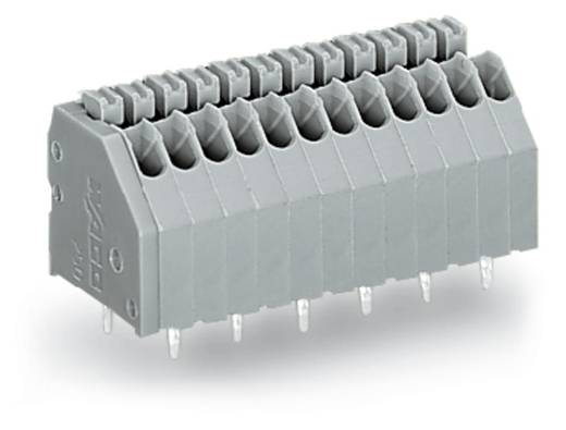 Federkraftklemmblock 0.50 mm² Polzahl 14 250-1414 WAGO Grau 120 St.