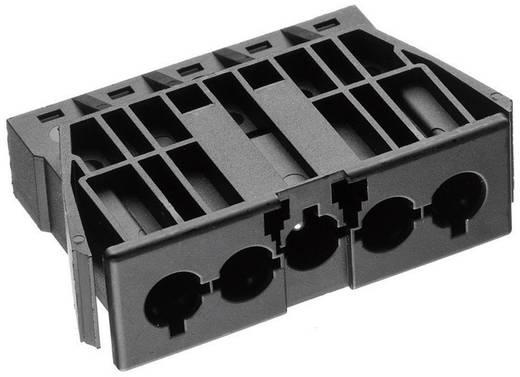 Netz-Steckverbinder AC Serie (Netzsteckverbinder) AC Buchse, Einbau vertikal Gesamtpolzahl: 4 + PE 16 A Schwarz Adels-Co