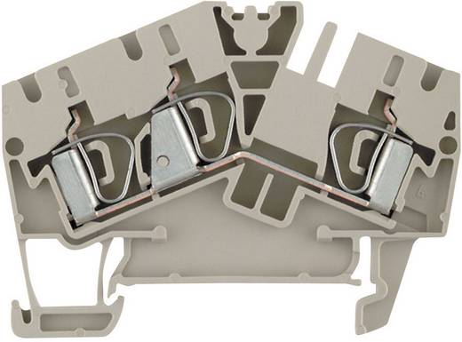 Durchgangs-Reihenklemmen ZDU...-2 beige ZDU 6-2/3AN 1771410000 Beige Weidmüller 1 St.