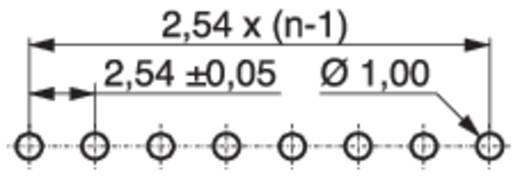 Stiftleiste (Präzision) STL Polzahl Gesamt 3 MPE Garry 428-3-003-0-T-KS0 Rastermaß: 2.54 mm 2000 St.