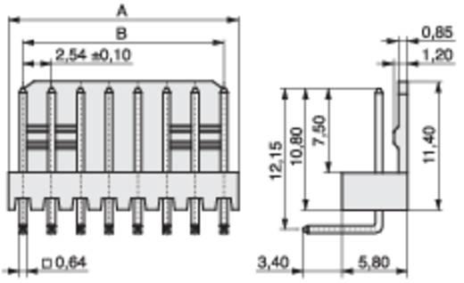 MPE Garry 428-3-003-0-T-KS0 Stiftleiste (Präzision) STL Polzahl Gesamt 3 Rastermaß: 2.54 mm 2000 St.
